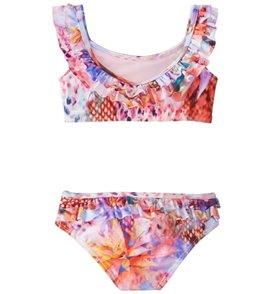 The Raisins Girls' Crystal Cove Lil Tsunami Two Piece Bikini Set (Little Kid, Big Kid)