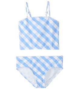 Raisins Girls' Chasing Waterfalls Cropped Two Piece Bikini Set (Big Kid)