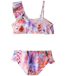 Raisins Girls' Crystal Cove Half Moon Two Piece Bikini Set (Big Kid)