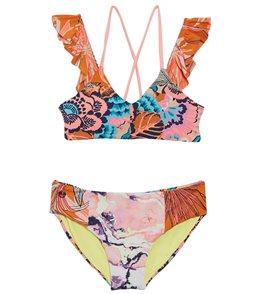 Maaji Girls' Tropic Cay Two Piece Bikini Set (Toddler, Little Kid, Big Kid)