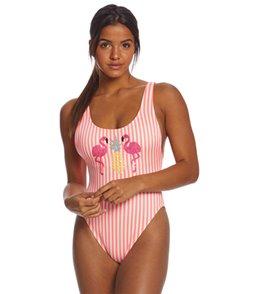 Coco Rave Pineapple Xpress Pamela High Leg One Piece Swimsuit