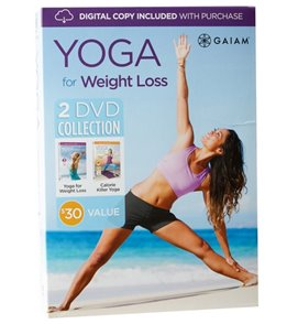 Gaiam Yoga For Weightloss 2 DVD Collection
