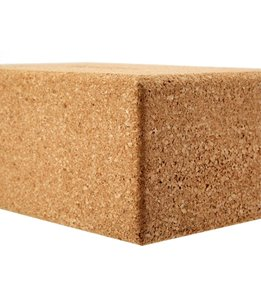 B Yoga Cork Yoga Block Standard 4 Inch
