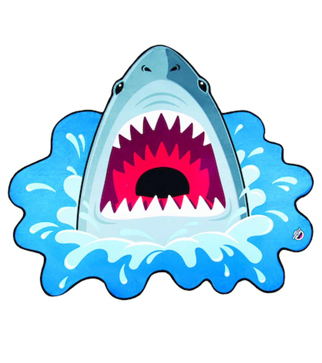 e8115509b302 Big Mouth Toys Shark Beach Blanket at SwimOutlet.com