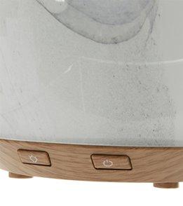 NOW Ultrasonic Glass Swirl USB Essential Oil Diffuser