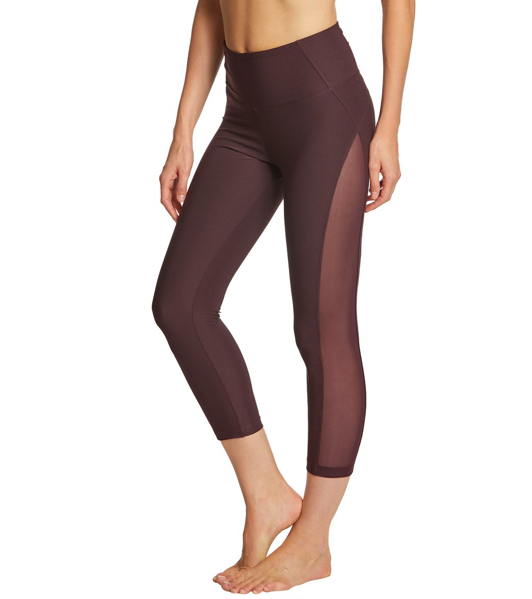 4478f798002391 Marika High Waisted Vixen Yoga Capris at YogaOutlet.com - Free Shipping