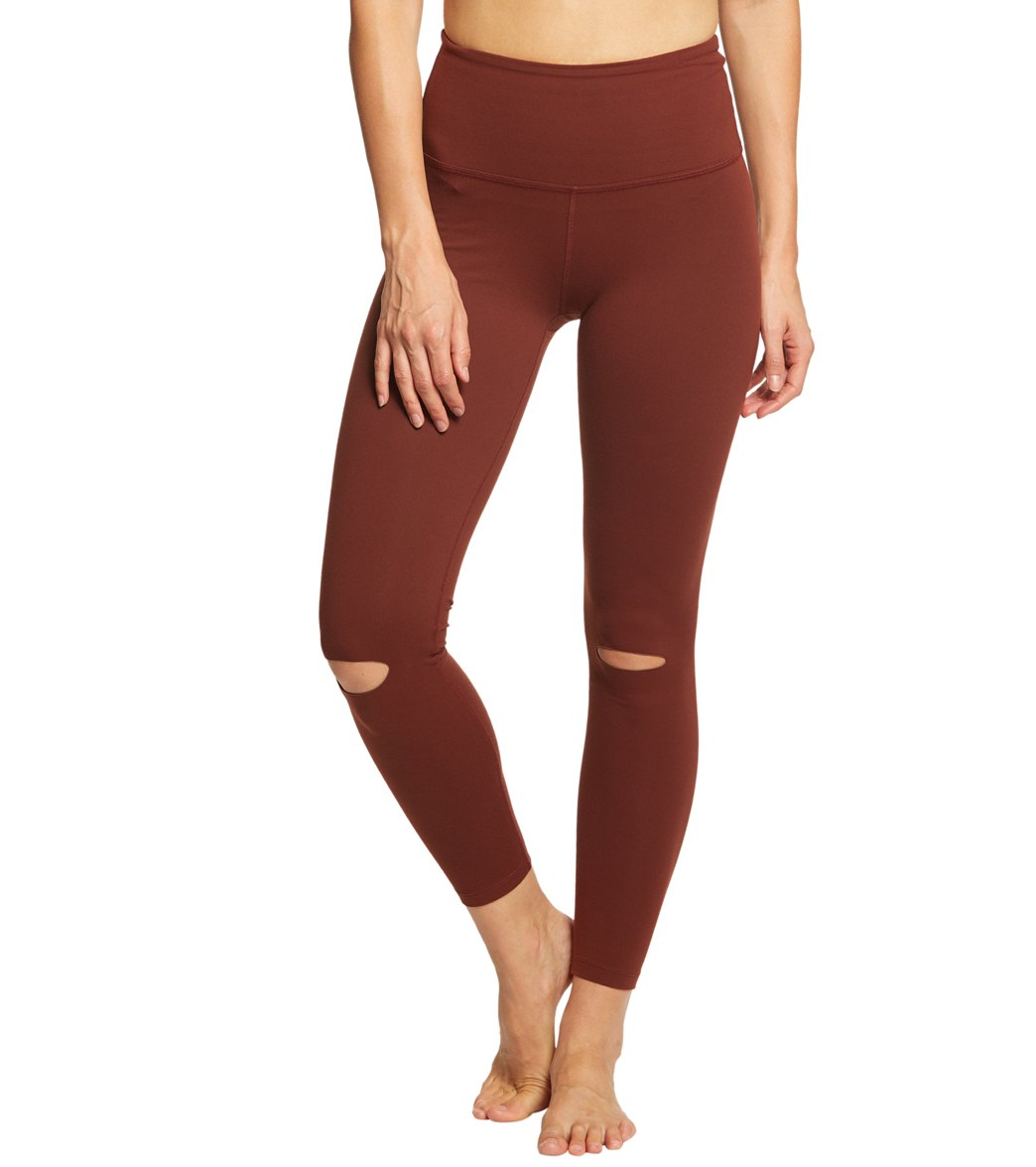 9702d1d93c Beyond Yoga Got To Slit High Waisted 7/8 Yoga Leggings at YogaOutlet.com -  Free Shipping