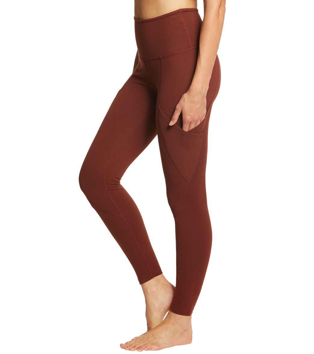 d741c4468d Beyond Yoga Palomino High Waisted 7/8 Yoga Leggings With Pockets at  YogaOutlet.com - Free Shipping