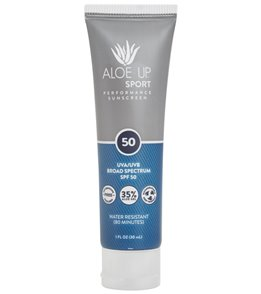 Aloe Up Sport SPF 50 Lotion Sunscreen 1oz