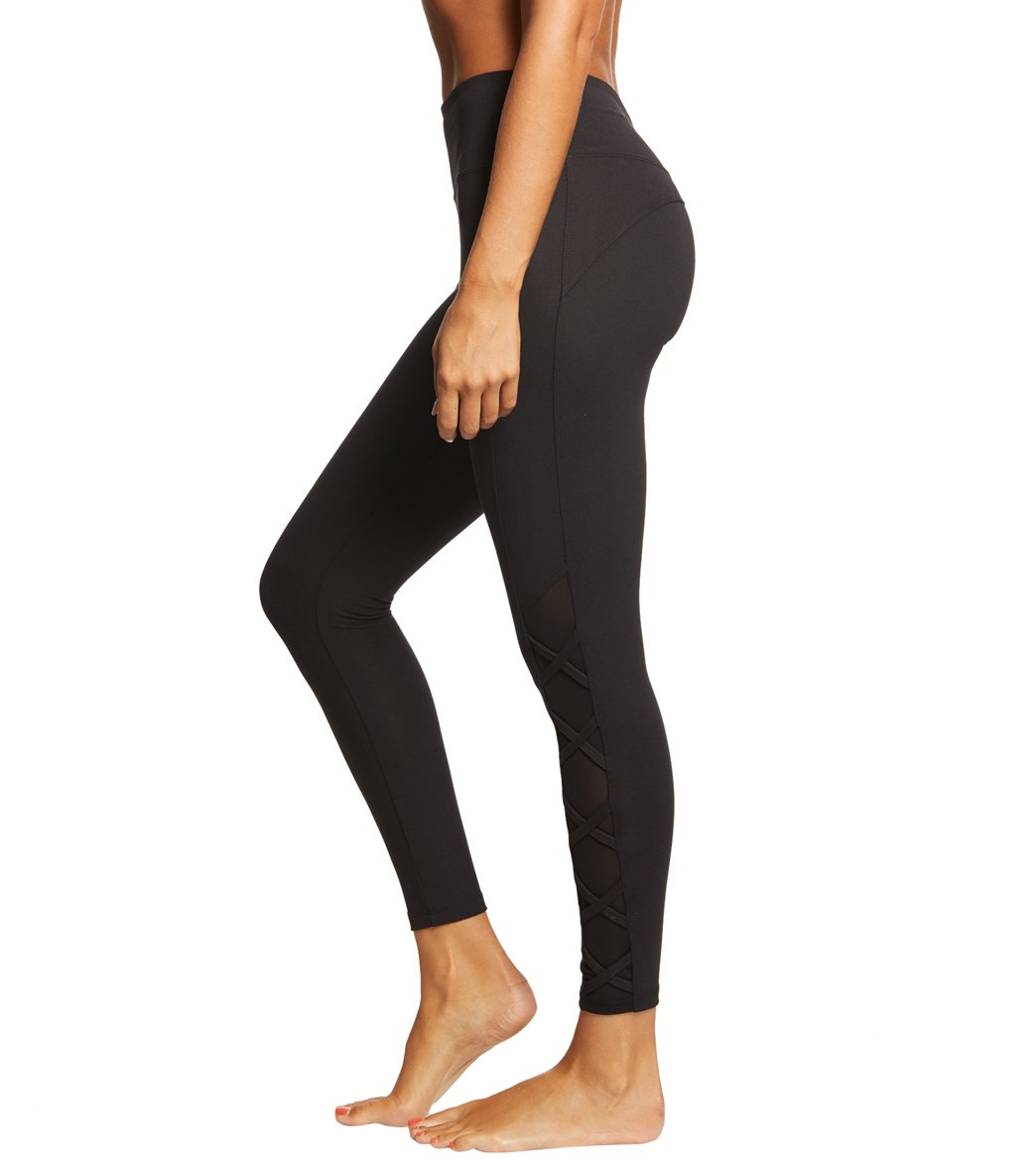 af63479ed9 Marika Celeste Tummy Control High Waisted Yoga Leggings at YogaOutlet.com -  Free Shipping