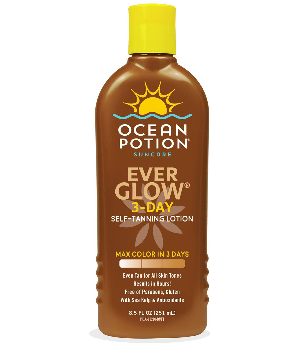 Sun Protection & Tanning Ocean Potion Skincare Ever Glow Daily Moisturizer Lotion 20.5 Fl Oz At Any Cost Health & Beauty