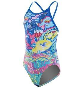 Amanzi Girls' Fly Away One Piece Swimsuit