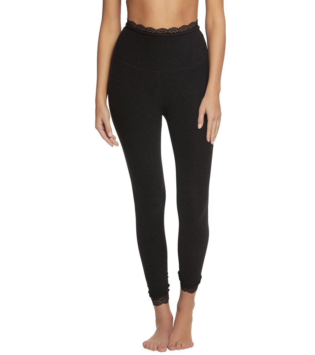b813bce061 Beyond Yoga Spacedye All For Lace High Waisted 7/8 Yoga Leggings at ...
