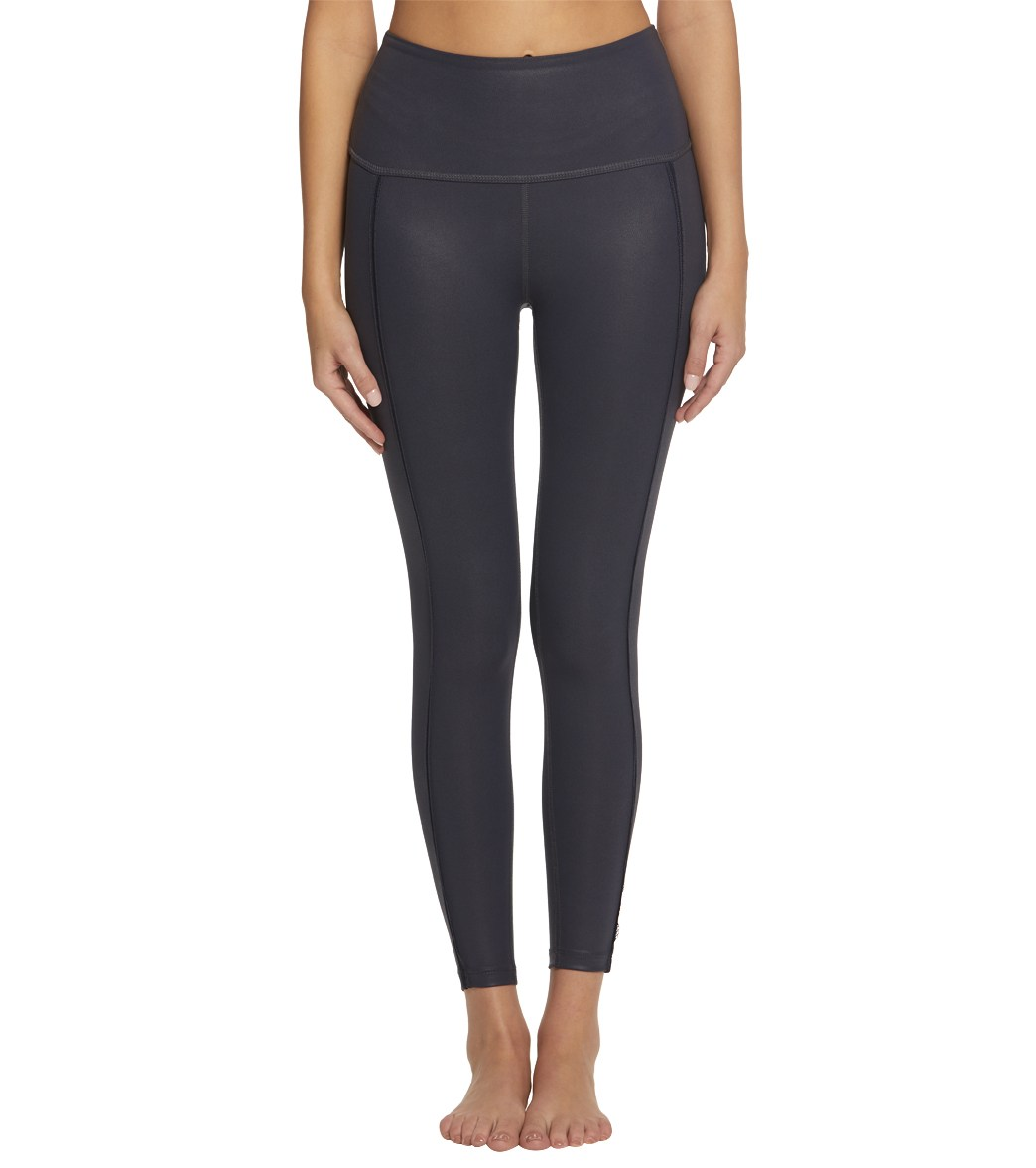 5db359af28 Beyond Yoga Pearlized Rise It High Waisted 7/8 Leggings at YogaOutlet.com - Free  Shipping