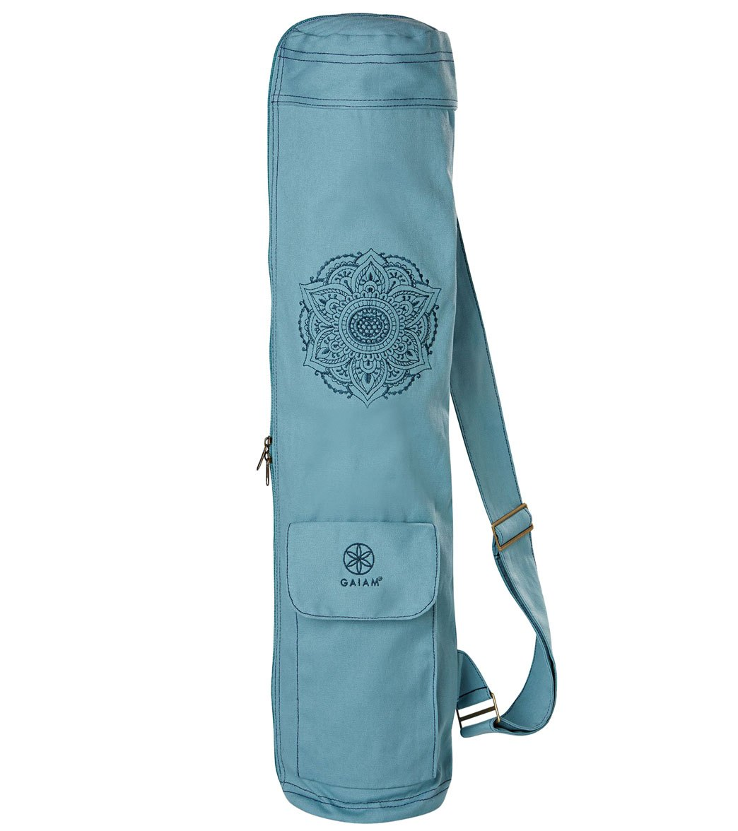 Gaiam Niagara Embroidered Cargo Yoga Mat Bags At Yogaoutlet