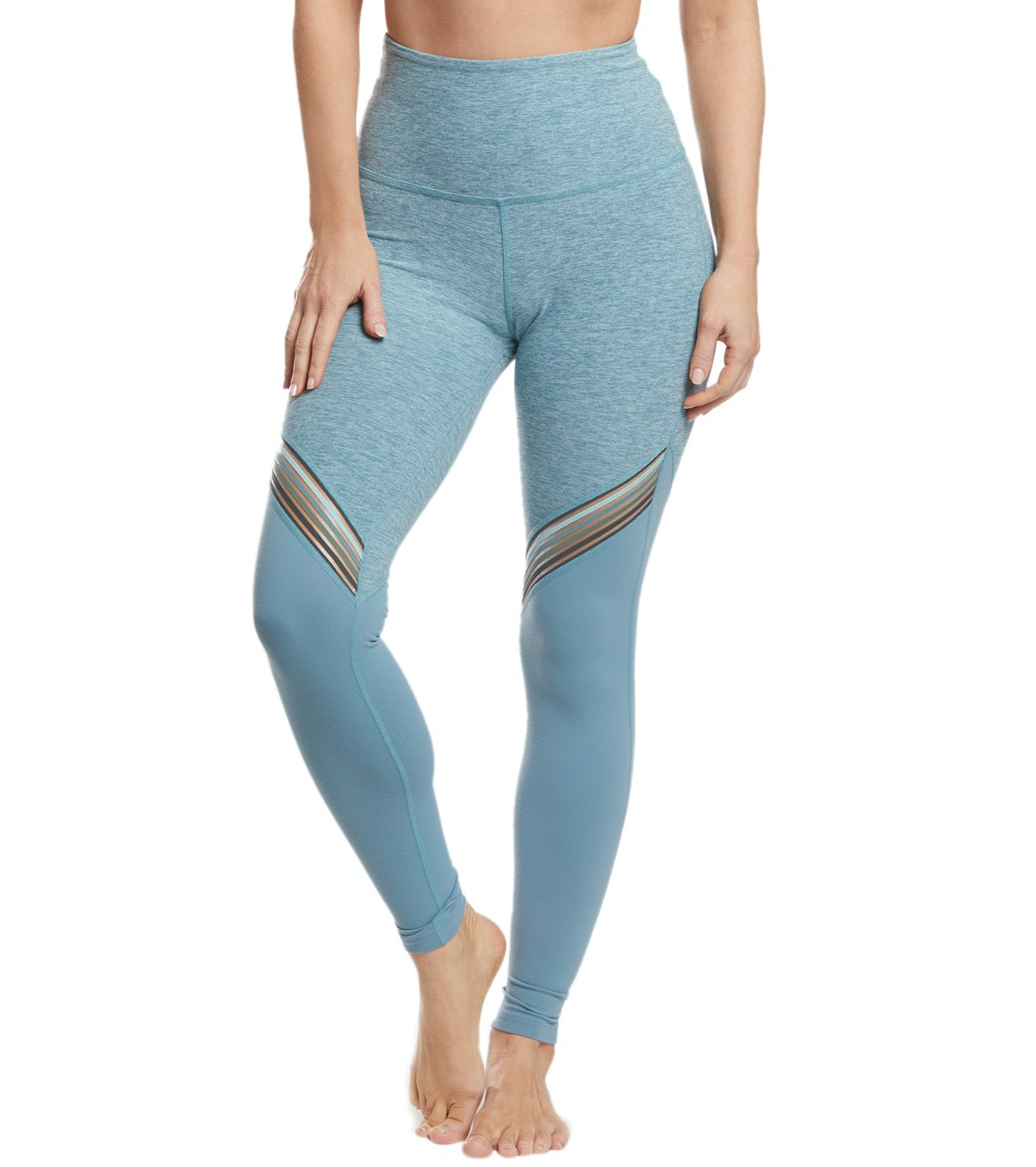 4a923910ed586b Beyond Yoga All The Filament High Waisted Long Yoga Leggings at  YogaOutlet.com - Free Shipping