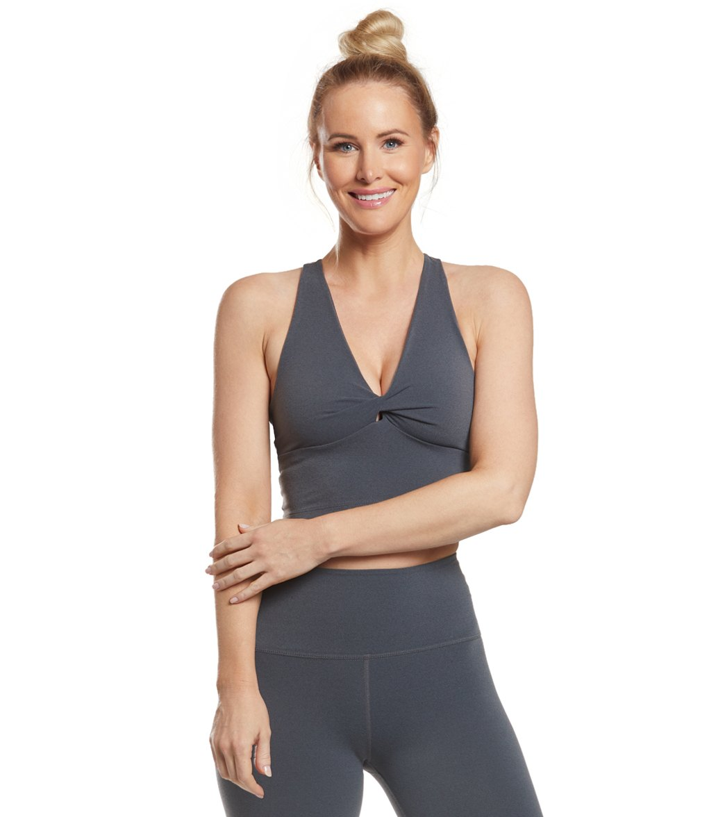 5a357c7f4e6b7 Beyond Yoga Twist Around Racerback Cropped Yoga Tank at YogaOutlet.com -  Free Shipping