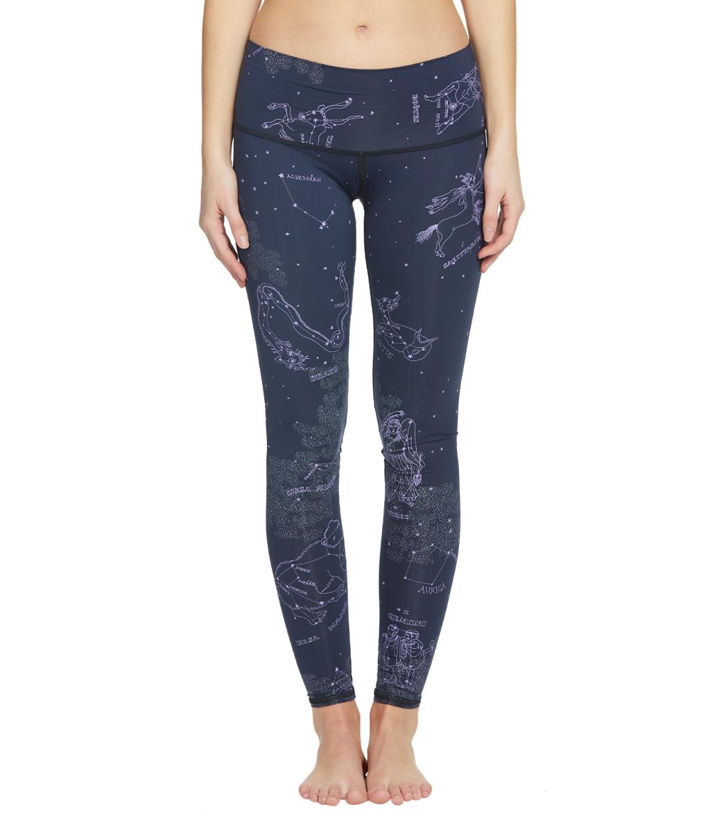 84b2fedf3af1a9 Teeki Stardust Yoga Hot Pant Yoga Leggings at YogaOutlet.com - Free Shipping