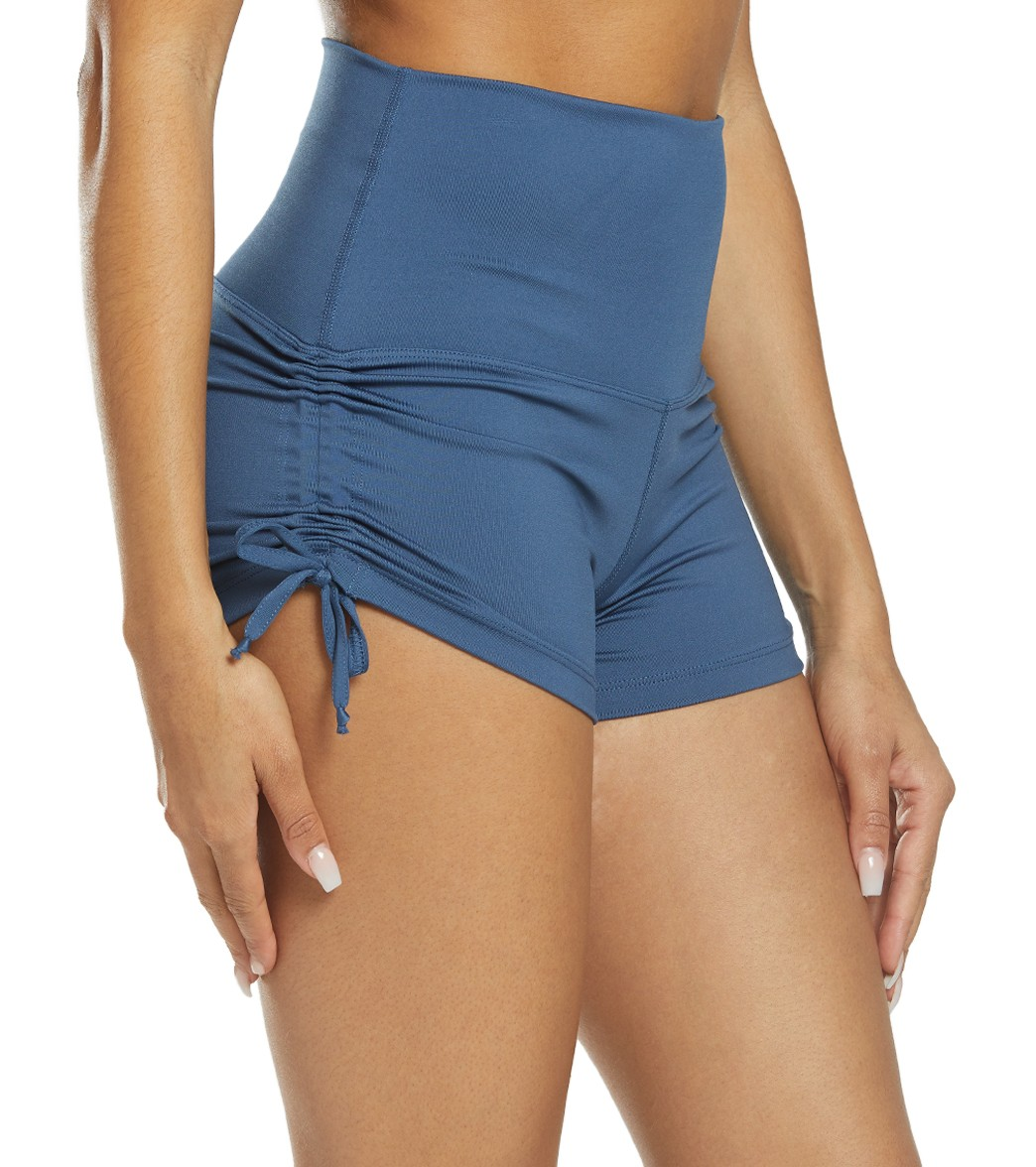 3921debbd1 Mika Yoga Wear Lucia High Waisted Yoga Shorts at YogaOutlet.com - Free  Shipping