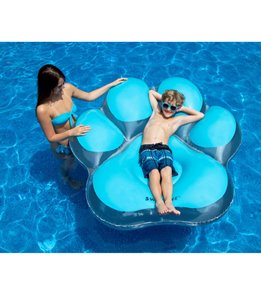 Swimline Pawprint Island Pool Float