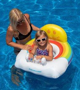 Swimline Rainbow Baby Seat Pool Float