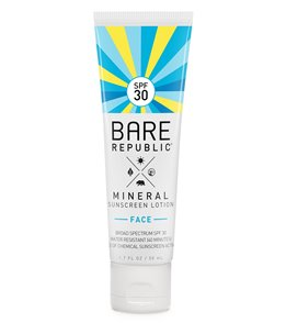 BARE Republic Tinted Mineral Face SPF 30 Sunscreen Lotion( 1.7oz)