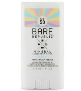 BARE Republic Mineral Baby SPF50 Sunscreen Stick (0.5oz)