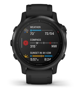 Garmin Fenix 6S Pro Black / Black Band