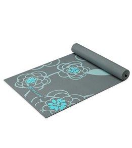 Gaiam Icy Blossom Yoga Mat 6mm
