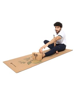 Shakti Warrior Shivshakti Pro Cork Yoga Mat 72