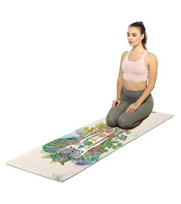 Shakti Warrior Samskara Hemp Yoga Mat 72