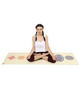 Shakti Warrior Chakra Yoga Mat 72