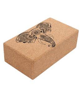 Shakti Warrior Align Cork Yoga Block