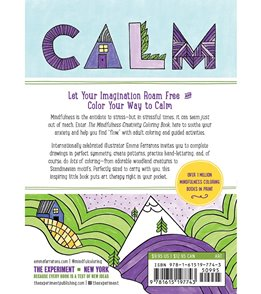 Workman Publishing The Mindfulness Creativity Coloring Book: Anti-Stress Guided Activities in Drawing, Lettering, and Patterns