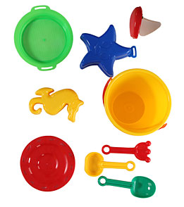 Wet Products Sand Toy Set