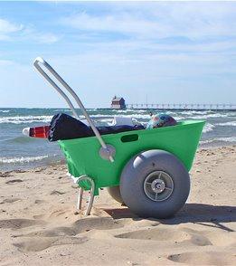 Wheeleez Inc Beach Cart