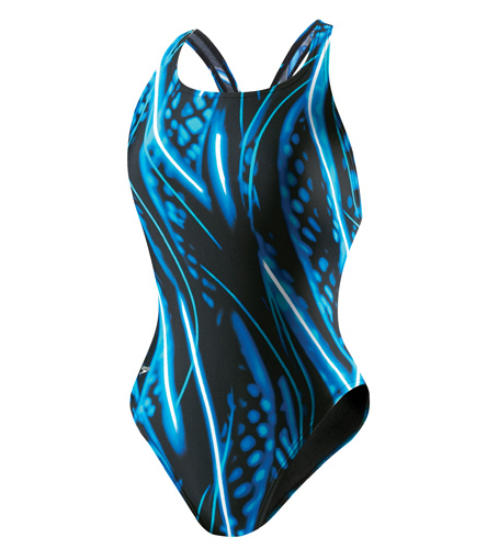 Speedo Shooting Star Super Proback One Piece Swimsuit At