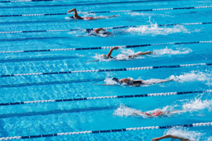 How to Pace a Mid-distance Freestyle Event