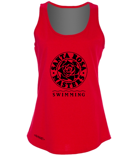SwimOutlet Women's Cotton Racerback Tank Top