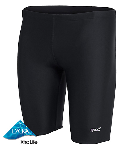 Sporti Solid Compression Jammer Swimsuit