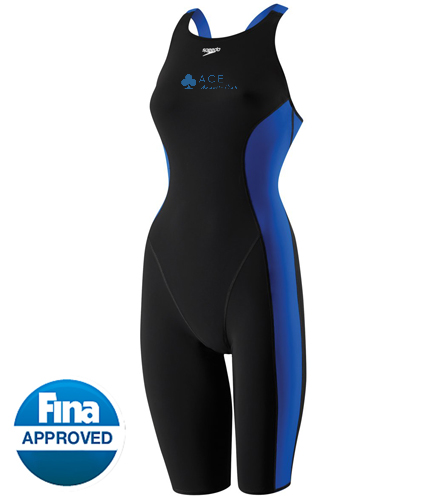 Speedo Women's Powerplus Kneeskin Tech Suit Swimsuit