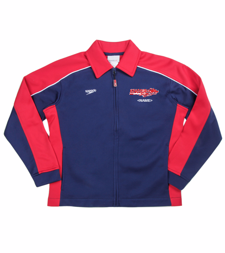 Speedo Streamline Youth Warm Up Jacket