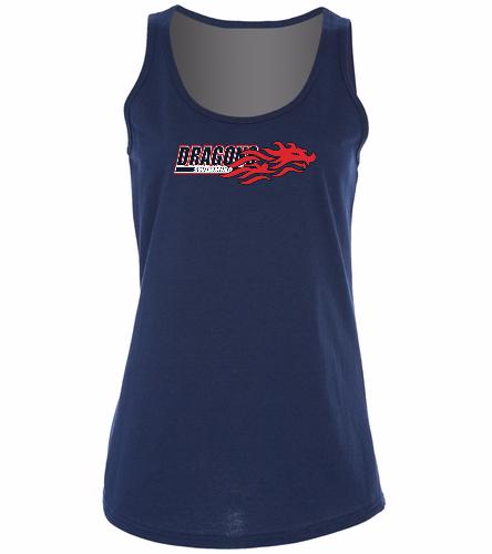 SwimOutlet Women's Cotton Racerback Tank Top