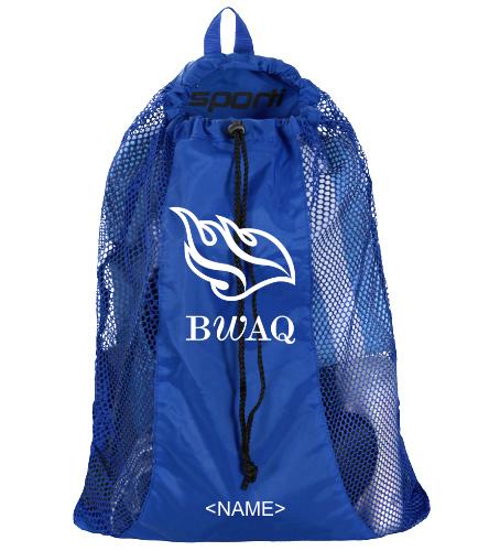 Sporti Premium Mesh Backpack