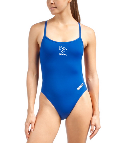 Arena Women's Mast MaxLife Thin Strap Open Racer Back One Piece Swimsuit