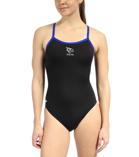 Speedo Solid Endurance + Flyback Training One Piece Swimsuit
