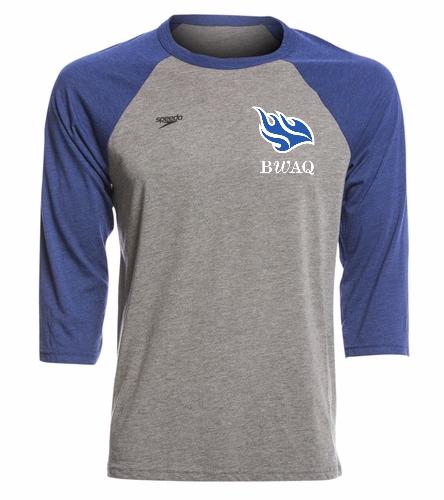 Speedo Unisex Baseball Tee Shirt