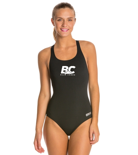 Arena Madison MaxLife Athletic Thick Strap Racer Back One Piece Swimsuit