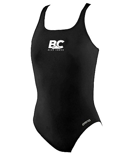 Arena Girls' Madison Athletic Thick Strap Racer Back One Piece Swimsuit