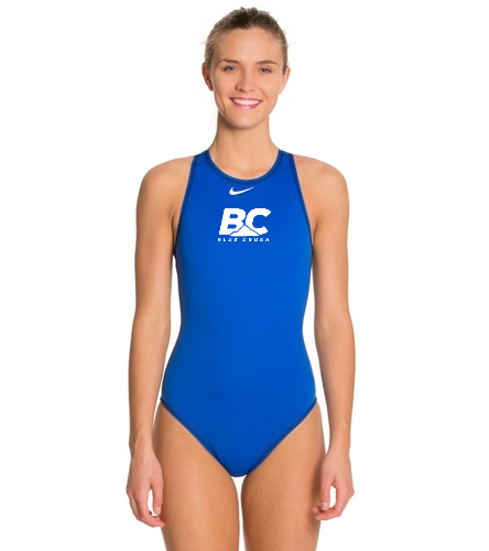 Nike Women's High Neck Tank Water Polo Suit